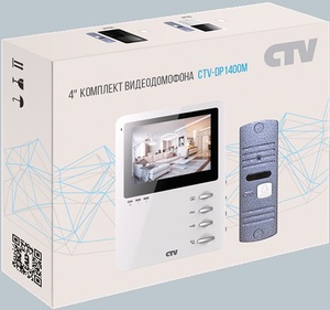 Комплект видеодомофона CTV-DP1400M