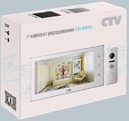 Комплект видеодомофона CTV-DP3701