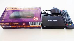 Приемник (ресивер) цифровой эфирный (приставка) WORLD VISION T59 DVB-T2
